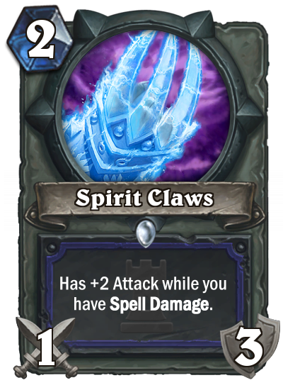 Spirit Claws po nerfu