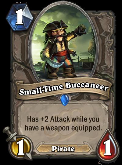 Small-Time Buccaneer po nerfu.